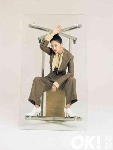 安悦溪怪力派少女杂志大片曝光时尚质感持续进阶