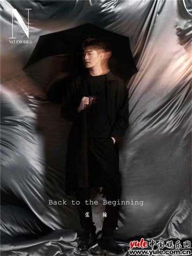 张翰最新杂志封面精彩来袭光影之下尽显摩登气质