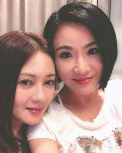 性感女神久违露面52岁的李丽珍光