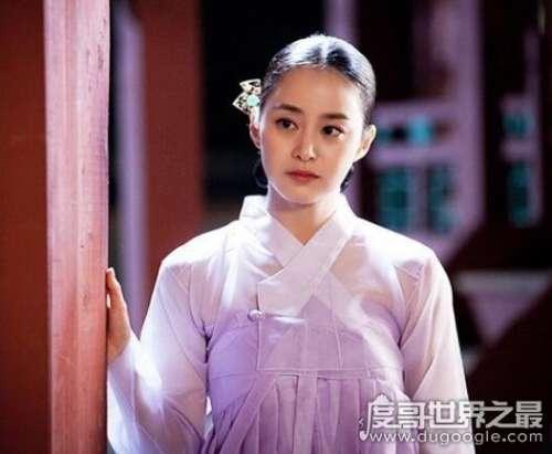 韩国最美10大女明星盘点
