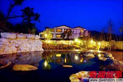 十大温泉冬季到台湾来泡汤