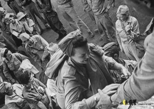 二战中漂亮的美国女兵足迹遍布全世界