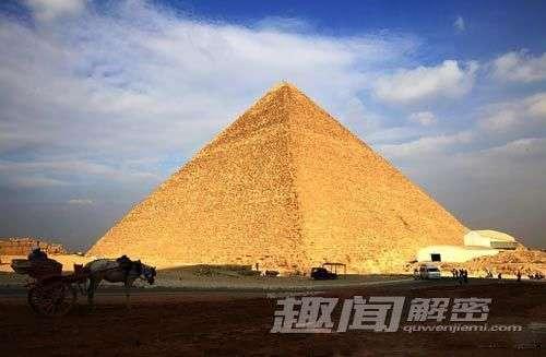 神奇在金字塔内发现恢复人体活力的能量