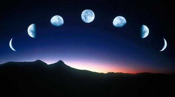 月亮的阴晴圆缺是怎幺形成的?