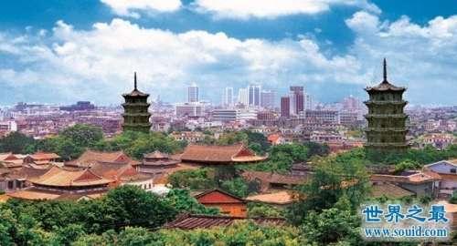 中国十大魅力城市排行榜,福建泉州排名第一