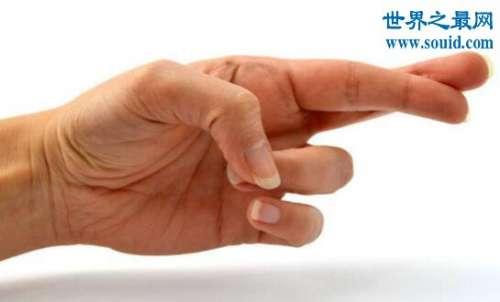 亚里士多德错觉图片,双手交叉时人类的错觉