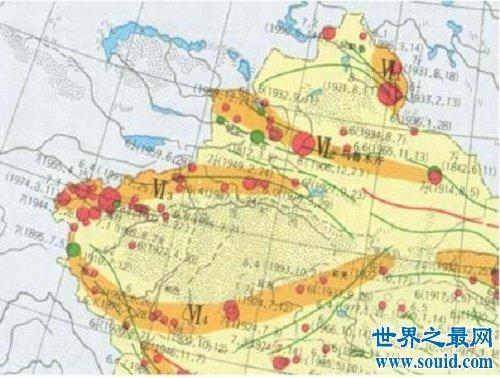 中国四大地震带形成的原因,分别集中在哪些地方