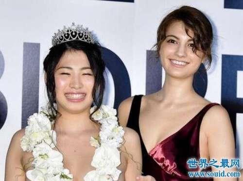日本美胸大赛真空上阵,冠军胸部F罩拥有完美触感