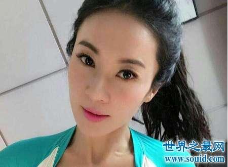50岁辣妈刘叶琳骗局容颜不老天使脸蛋魔鬼身材