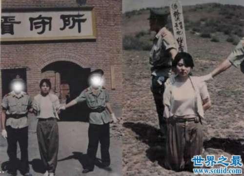 新中国第一位美女死刑犯陶静,年仅20岁的漂亮女毒贩【真实图】
