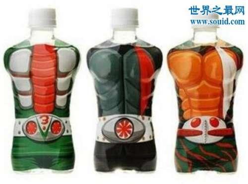 日本无节操饮料,裸男包装令人脸红(身材是真的好)