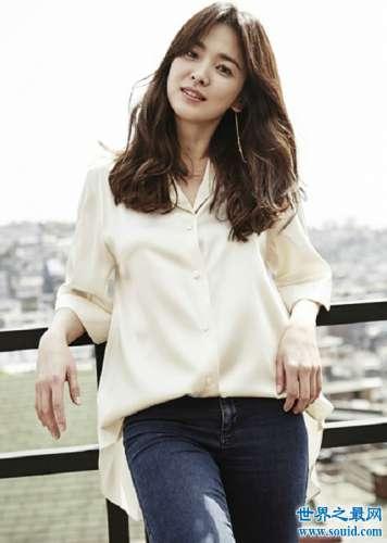 最美韩国女明星排行 个个迷人难分伯仲