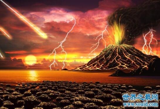 地球冥古宙时期,到处都是滚烫的岩浆(生命的起源)