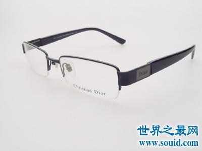 世界十大高端眼镜品牌,第一眼镜上镶嵌宝石珍珠钻石!