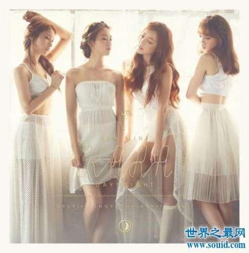 韩国女团最新排行,快看看你的爱豆有上榜吗?