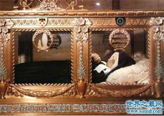 圣女贝尔纳黛特尸体不腐烂,脸部圆润被封为圣徒