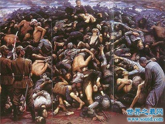 南京大屠杀死了多少人?具体数量已无法详细统计