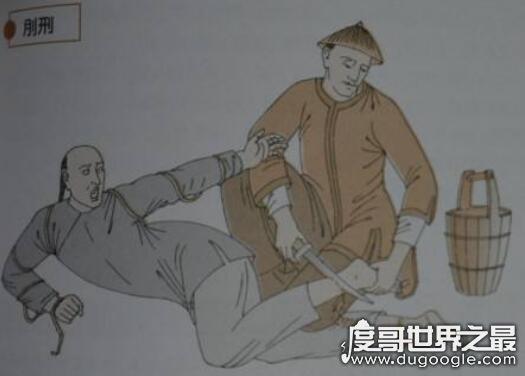 古代刑罚之肉刑,即五刑中的墨/劓/剕/宫/大辟(汉文帝废除)