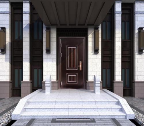 日上防盗门官网中对防盗门材质的介绍