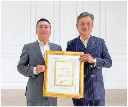 中柬商会刘阳成为世界华人亚太区执行主席
