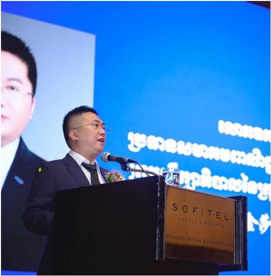 中柬商会刘阳先生出任迪拜硅谷中国中心主席