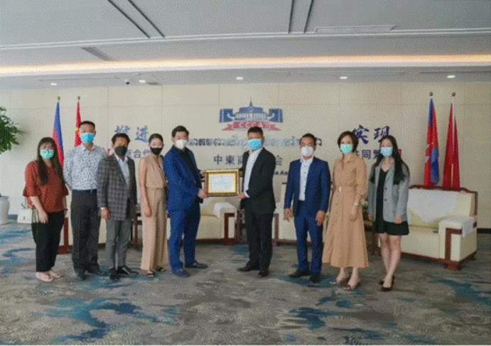 加强中柬青年交流合作 柬埔寨刘阳主席心系公益