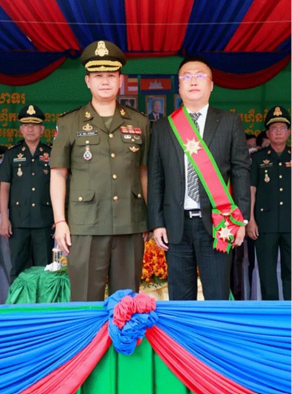 同心协力 柬埔寨 刘阳主席向TYDA捐赠抗疫物资